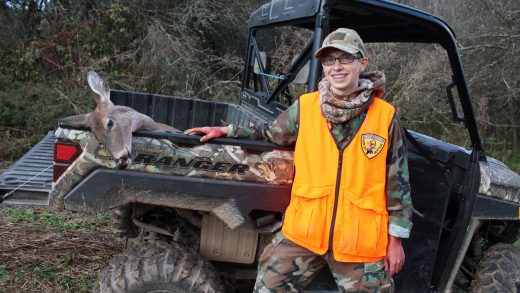 It's All about Family at the Youth Day Hunt.