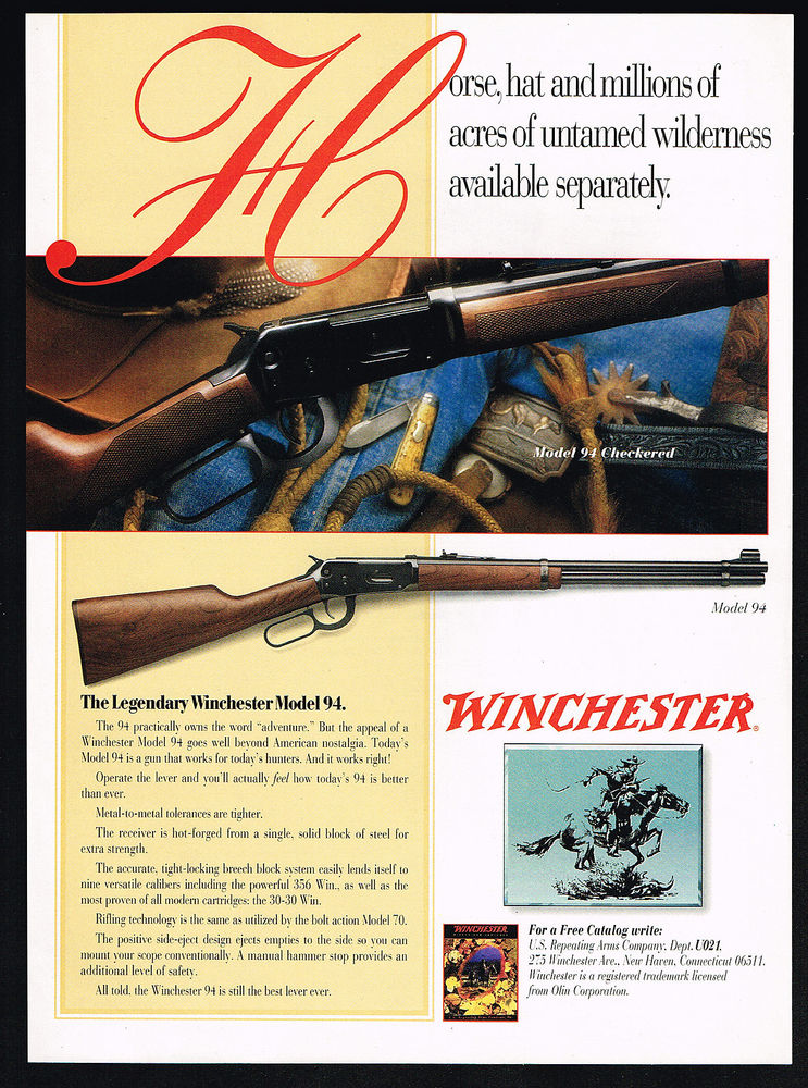 A Rifle for the Ages, the Winchester Model 1894 - Guns and